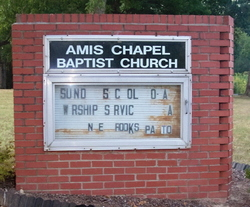 Amis Chapel Baptist Church Cemetery