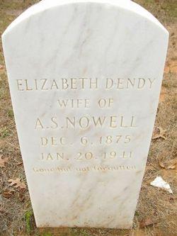 Elizabeth Ann <i>Dendy</i> Nowell