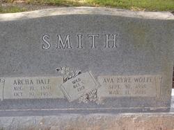 Ava Eyre <i>Wolfe</i> Smith