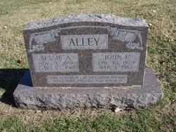 Bessie Augusta <i>McDaniel</i> Alley