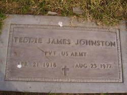 Pvt Teddie James Johnston
