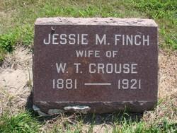 Jessie M <i>Finch</i> Crouse
