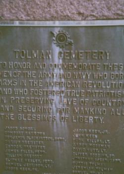 Tolman Cemetery