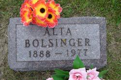 Alta <i>Cole</i> Bolsinger