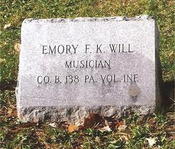 EMORY F K WILL