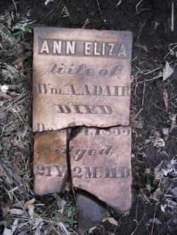 Ann Eliza <i>Duckworth</i> Adair
