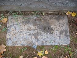 Sgt Silas A.F. Biery