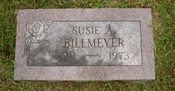 Susie A. <i>Cole</i> Billmeyer