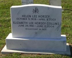 Elizabeth Lee <i>Horsey</i> Collins