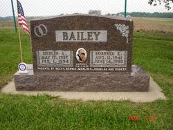Merlin A. Bailey