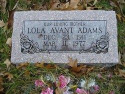 Lola O <i>Avant</i> Adams
