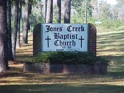 Jones Creek Baptist Church Cemetery