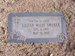 Lillian <i>Wildt</i> Smoker