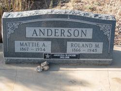 Mattie Alene <i>Calvin</i> Anderson