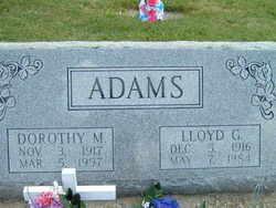 Dorothy M Adams