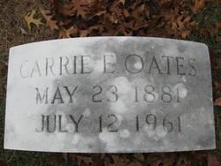 Carrie Etta Oates