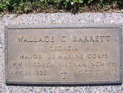 Maj Wallace C Barrett