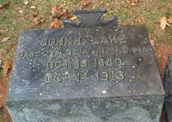 Capt John Leven Lake