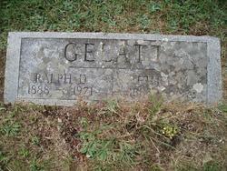 Ethel May <i>Conrad</i> Gelatt