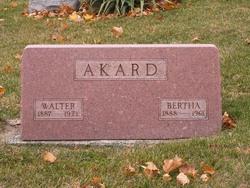 Bertha <i>Friley</i> Akard