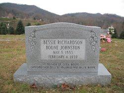 Bessie Boone <i>Richardson</i> Johnson