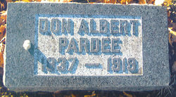 Don Albert Pardee