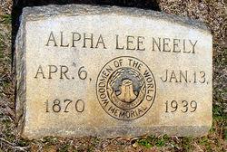 Alpha Lee A L Neely
