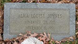 Alma Louise Joynes