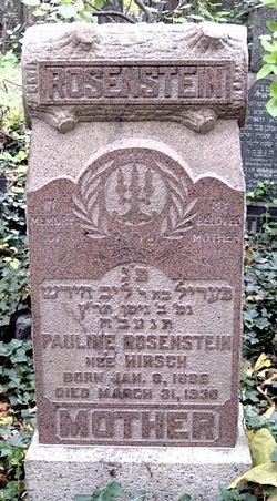 Pauline <i>Hirsch</i> Rosenstein