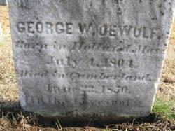 George W Dewolf
