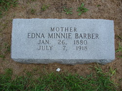Edna Minnie <i>Kelly</i> Barber