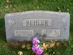 Bowman D. Behler