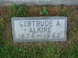 Gertrude A Alkire