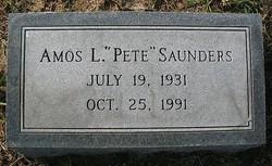 Amos L. Pete Saunders
