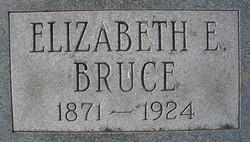 Elizabeth Esther <i>Smith</i> Bruce