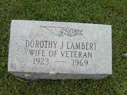 Dorothy J. <i>Sloper</i> Lambert