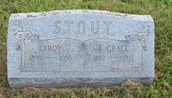 Katherine Grace Grace <i>Reid</i> Stout
