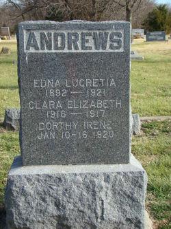 Edna Lucretia <i>Landon</i> Andrews