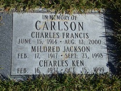 Charles Francis Marrion Chick Carlson