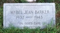 Mabel Jean Barker
