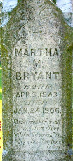 Martha Matilda <i>Jones</i> Bryant