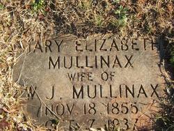Mary Elizabeth <i>Sapaugh</i> Mullinax