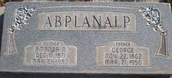 Amanda M Abplanalp