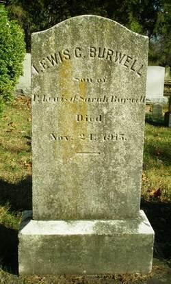 Lewis Carter Burwell