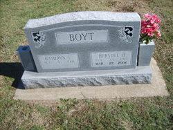 Kathryn L. <i>Matthews</i> Boyt