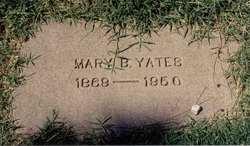 Mary B Yates