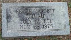 Bertie <i>Hargett</i> Crump