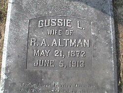 Augusta L. Altman