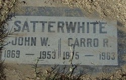 John Woodward Satterwhite