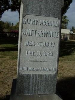 Mary Abrelia <i>Seely</i> Satterwhite